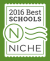 Best Schools NICHE 2016 graphic