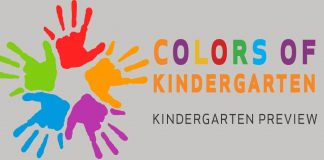 Colors of Kindergarten (Kindergarten Preview) 5 – 6 p.m., May 25, 2017