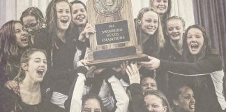 AHS Girls Swimming & Diving Team Defines Dynasty with National Championship