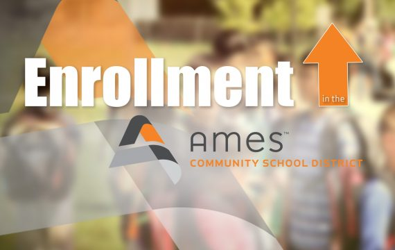 Certified Enrollment Up in Ames