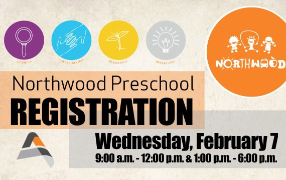 Northwood Registration Graphic Digital Sign